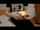 Тимоха собирает кубик-рубик