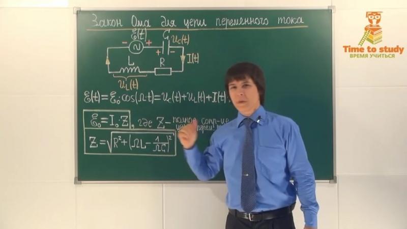 Физика подготовка к ЕГЭ. Переменный электрический ток. Колебательный контур и его свойства