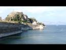 2016 Керкира Корфу Крепость с видом на катамаран Дукат
