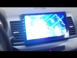 Lancer x магнитола Андроид 6.0 , качество видео.