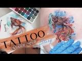 Tattoo story Golden Fish