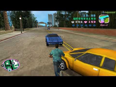 Прохождение GTA Vice City на 100% Угон автомобилей Список 3
