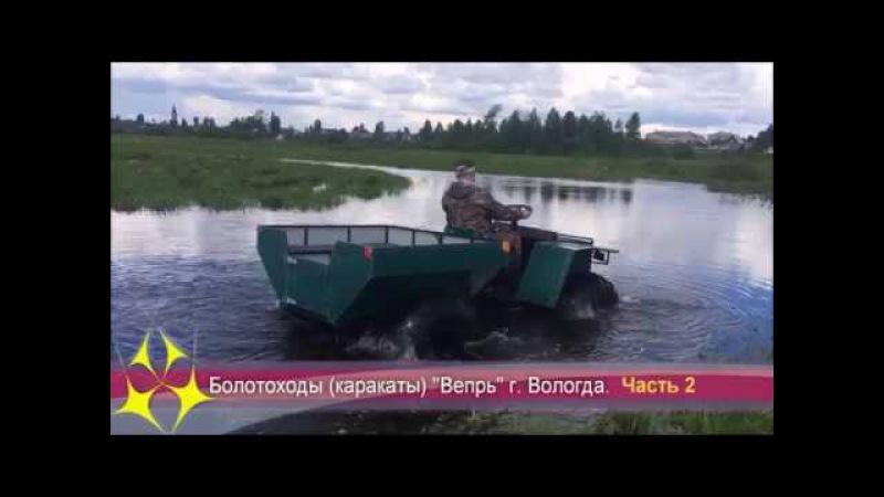 Все о болотоходах Вепрь (вариатор) г. Вологда Часть 2