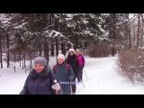 Скандинавская ходьба на Елагином, 21 января 2017 года, Санкт Петербург