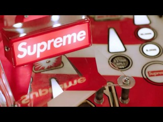 "Supreme on Instagram: ""Spring/Summer 2018 Supreme®/Stern® Pinball Machine ? @kings0l0m0n"""