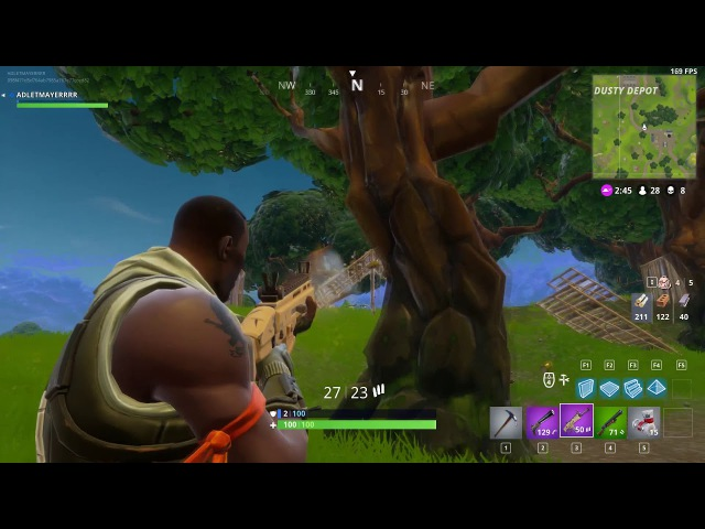 Fortnite | AREA - destroying enemy 16 kills (every game top 1)