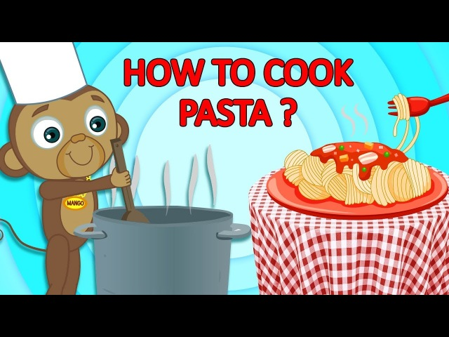 How to Cook: PASTA?! Funny Animal Cartoons for Children by Adventures of Annie and Ben!