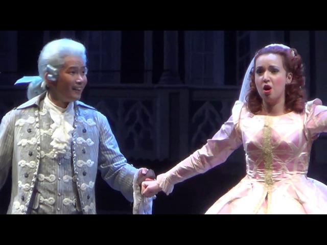 Vasilisa Berzhanskaya as Rosina in Il Barbiere di Siviglia (trio with Figaro and Almaviva))