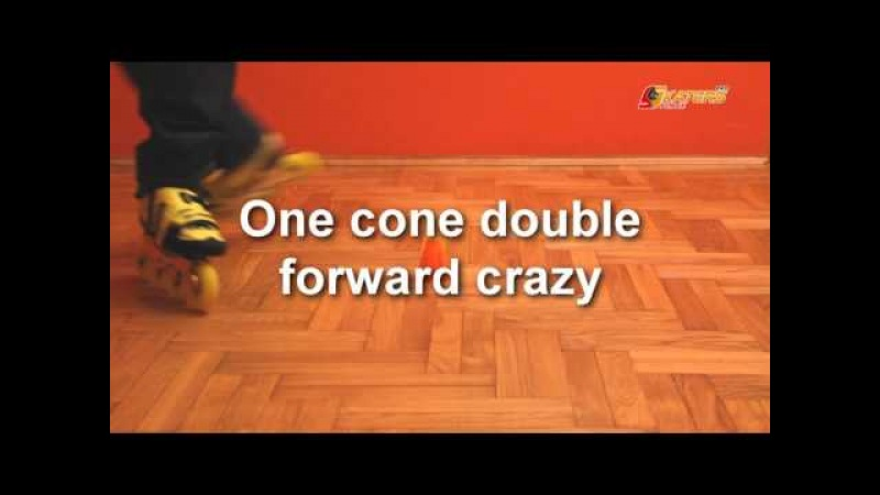 One Cone Crazy and Friends - freestyle slalom tricks for one cone.
