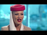 Emirates cabin crew commercials