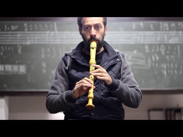 Greensleeves Flauta Doce Contralto Alto Recorder
