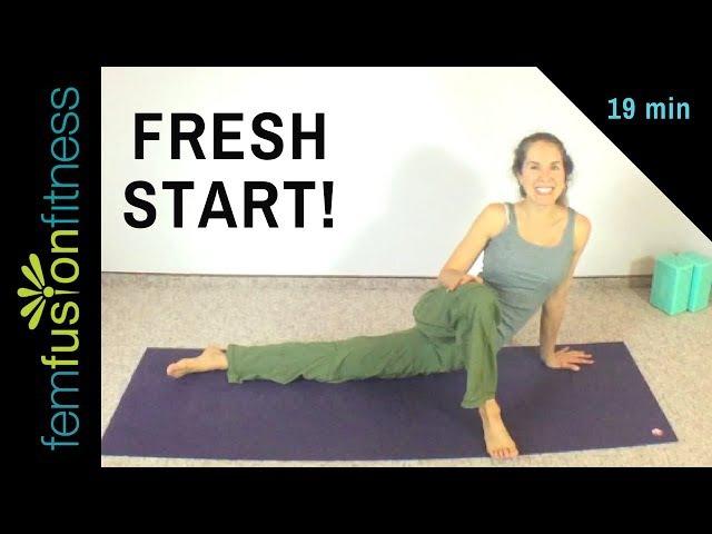 Fresh Start Foga: Morning Back and Core