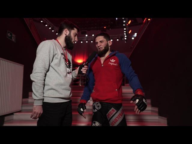Post-fight interview: Amir Elzhurkaev