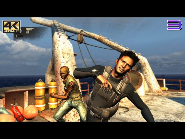 RPCS3 PS3 Emulator - Uncharted Drake's Fortune Ingame / Gameplay 4K 2160p! VULKAN (8f314c51) LLVM