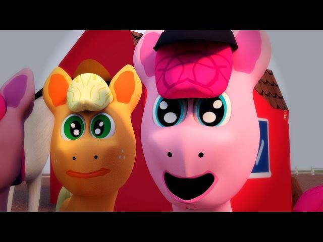 Мои цветные пони: картофельные клубнежорки (пародия MLP)
