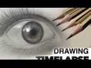DRAWING TIME LAPSE HUMAN EYE SPEED DRAWING GRAPHITE PENCIL CHRISSY LEE