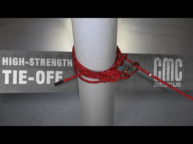 ANCHORS AWAY | Learn How to Tie a High-Strength Tie-Off Anchor