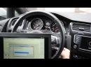 Программирование ключа с системой KEYLESS GO в автомобили на платформе MQB