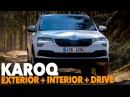 Skoda KAROQ 2017 EXTERIOR INTERIOR FIRST DRIVE Better than New VW Tiguan and Seat Ateca
