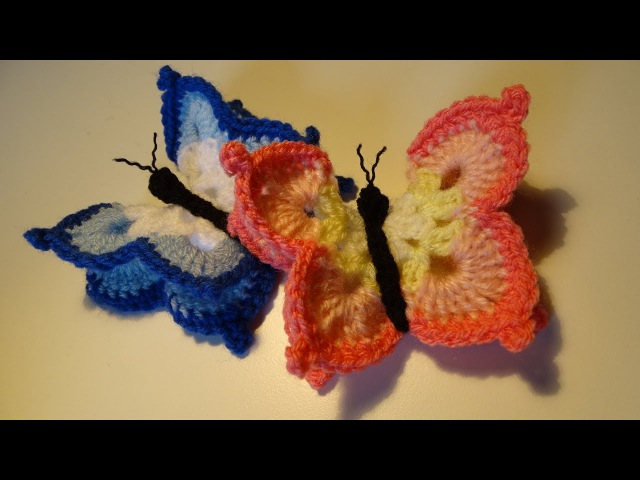 Crochet Butterfly - Vlinder haken