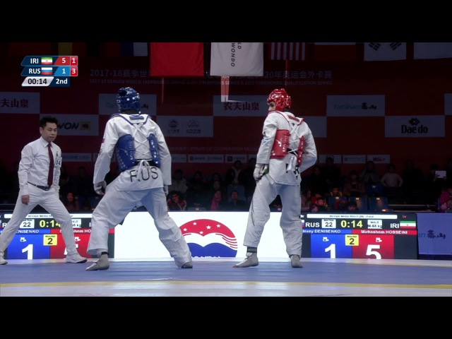 [M-68kg Brozen Match ] Alexey Denisenko (RUS) VS Mirhashem Hosseini (IRI)