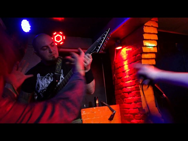 Encephalotomy Suffer The Children Napalm Death Cover Live at Barvy club Kiev 03 02 2018
