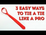 3 easy ways to tie a tie like a PRO! l 5-MINUTE CRAFTS