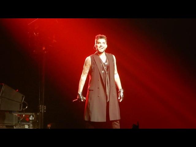 Queen and Adam Lambert Fat Bottomed Girls Manchester Arena 9-12-2017