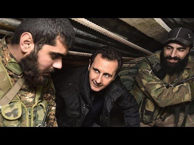 Esad yeni yıla Cobardaki cephe hattında girdi