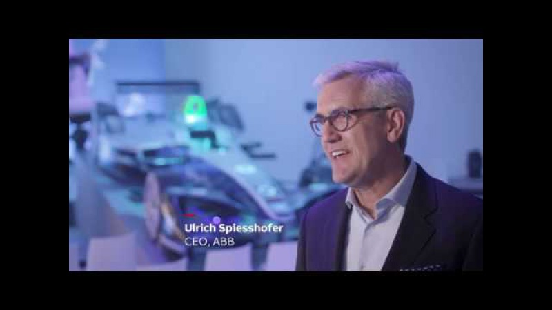ABB CEO Ulrich Spiesshofer talks about ABB's partnership with Formula E