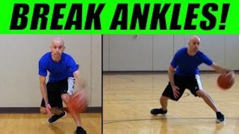 10 DEADLY Crossover Dribbles! Basketball Moves For Beginners: Break Ankles!