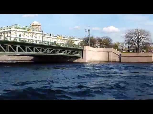 Реки,каналы и мосты С-Петербурга.Взгляд на город с Невы.Saint Petersburg River.