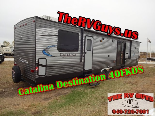 Go Full Time In Total Style And Comfort In This Stunning 2018 Catalina Destination 40FKDS