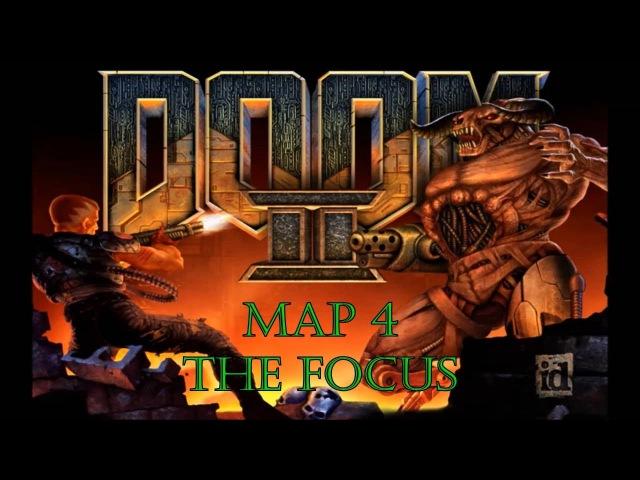 Прохождение Doom 2: Hell on Earth [Map 4 - The Focus] (100%)