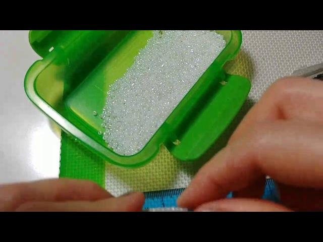 Мастер класс Верба из бисера Авторский мк от Виктории Beaded flowers tutorial