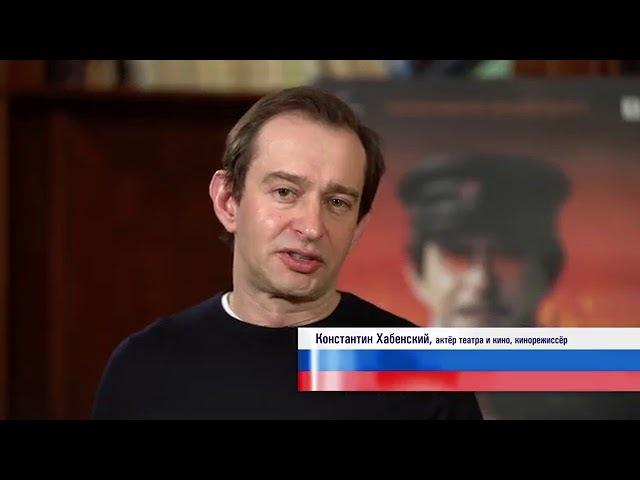 Выборы в РФ '2018 (Хабенский на ТВ против коммуняк в виде Троцкого)