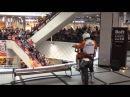 мотокросс в супермаркете Гринвич Екатеринбург сумасшедшие гонки трюки 2015