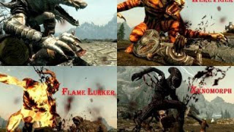 The Elder Scrolls V: Skyrim   Выпуск 11: Мод добавляющий 10 скинов для оборотня.