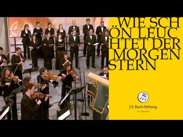 J.S. Bach - Cantata BWV 1 Wie schön leuchtet der Morgenstern   1 Chorus (J. S. Bach Foundation)