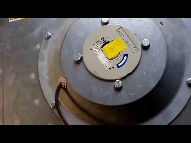RP 60-30/28-4e - видео-обзор канального вентилятора Remak от нашего клиента