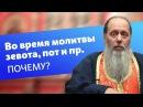 Почему во время молитвы возникает зевота прошибает пот и пр прот Владимир Головин