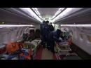 Эвакуация пострадавших бортом МЧС