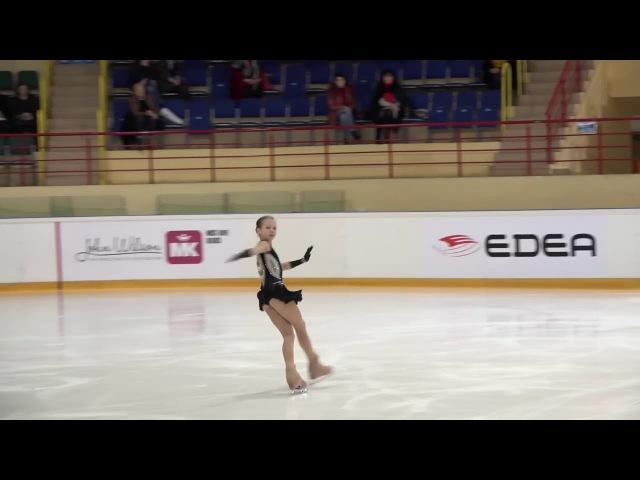 Александра ТРУСОВА, Первенство России среди юниоров 2018, КП