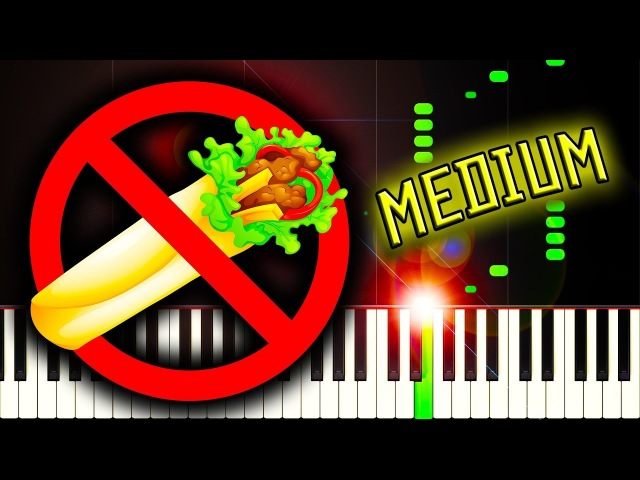 SERBIA STRONG (REMOVE KEBAB) - Piano Tutorial