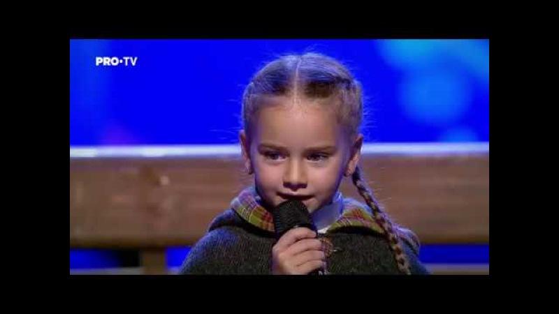 Romanii au talent 2018: Amelia Uzun si Anca Cernicova - Interpreteaza piesa Once Upon a December