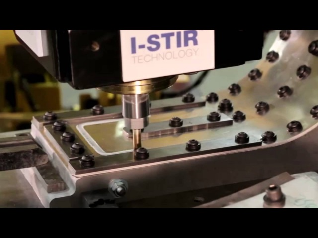 Robotic Friction Stir Welding (FSW) with PaR Systems' I-STIR Technology FANUC Robot