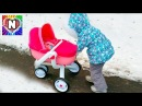НАСТЯ ВЛОГ Рутина маленького блогера Настя мама Кукла беби Бон и Настя Baby Dolls Nursery Rhymes