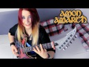 AMON AMARTH - Guardians Of Asgaard [GUITAR COVER] with SOLO | Jassy J