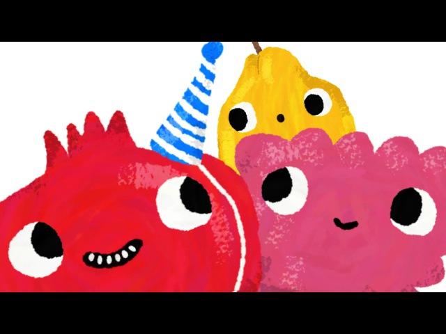 PQR * Fruit Alphabet for kids * Learn the Alphabet names of fruits * 6