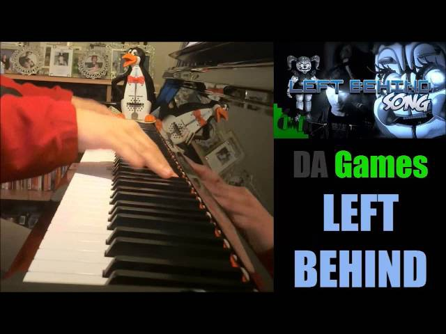 FNAF SISTER LOCATION SONG - LEFT BEHIND - DAGames (Piano Cover by Amosdoll)